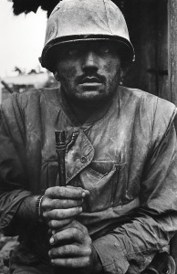 Shell Shocked US Marine, The Battle of Hue 1968. © Don McCullin